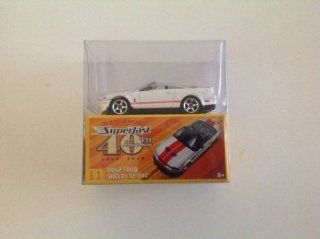 Matchbox Superfast 40th Anniversary 2007 Ford Shelby GT 500 White #11