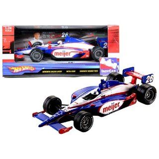 Hot Wheels Year 2009 IndyCar Series 124 Scale Die Cast Open Wheels Race Car with Authentic Racing Livery, Metal Body and Synthetic Rubber Tire   #26 Marco Andretti (2006 IndyCar Series Rookie of the Year) Toys & Games