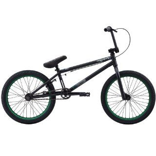 Eastern Bikes Griffin 2013 Edition BMX Bike (Matte Black/Green Rim, 20 Inch) Sports & Outdoors