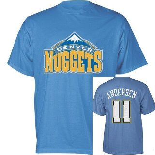 Chris Andersen Denver Nuggets Jersey Name and Number T Shirt XL  Apparel  Sports & Outdoors