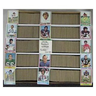 (5,000) 1974 Topps Football Huge Vintage Card Lot Set Builder In Number Order Sports Collectibles