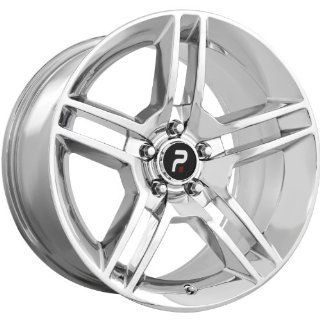 Strada Replicas 101 18 Chrome Wheel / Rim 5x4.5 with a 24mm Offset and a 70.6 Hub Bore. Partnumber 101C 816524 Automotive