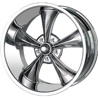 Ridler Style 695 17 Chrome Wheel / Rim 5x4.5 with a 0mm Offset and a 83.82 Hub Bore. Partnumber 695 7765C Automotive