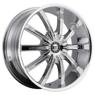 Rev 927 26 Chrome Wheel / Rim 5x4.5 with a 15mm Offset and a 78.1 Hub Bore. Partnumber 927C 2696515 Automotive