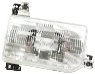OE Replacement Nissan/Datsun Pathfinder/Pickup Passenger Side Headlight Assembly Composite (Partslink Number NI2503104) Automotive
