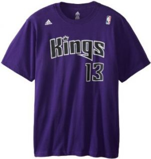 NBA Sacramento Kings Tyreke Evans #13 Name & Number T Shirt Clothing