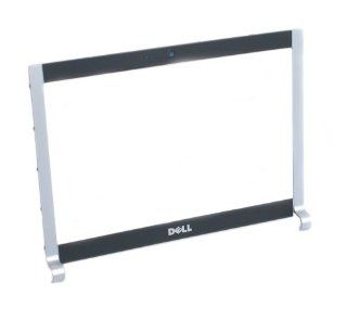 "Genuine Dell RW485 Tuxedo Black/Silver 13.3"" Inch LCD Screen Bezel With Webcam Port, For The Dell XPS M1330 Notebook Laptop (Bezel ONLY, Does NOT Include LCD Screen/Monitor) Dell Compatible Part Numbers RW485 Computers & Accessories"
