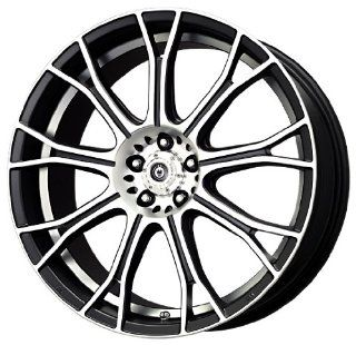 Konig Swurve Matte Black   17 X 7 Inch Wheel Automotive