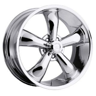 18 inch 18x9.5 Vision Legend 5 142 Chrome wheel rim; 5x115 bolt pattern with a +12 offset. Part Number 142 8990C12 Automotive