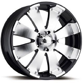 Ultra Mako 20x9 Machined Black Wheel / Rim 8x180 with a 35mm Offset and a 124.21 Hub Bore. Partnumber 243 2998B Automotive