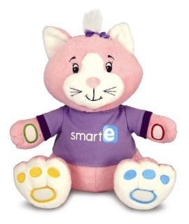 Kids Preferred Smart e Cat,The First Soft Cat With Smart e Software Pink/White Toys & Games