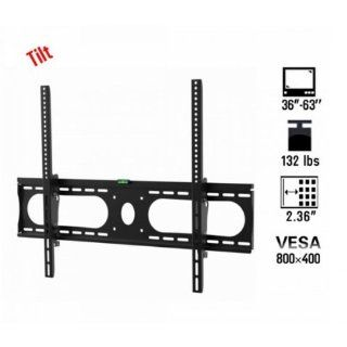 "Fast shipping + Free tracking number, VESA 800 x 400, Tilting 36 63"" Load capacity 132lbs Flat Lockable LCD LED Plasma TV Wall Mount Bracket Electronics"