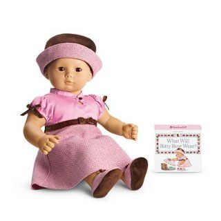 American Girl Bitty Baby Pretty in Pink Dress Outfit (American Girl Bitty Baby/Bitty Twins) Toys & Games