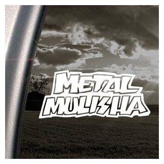 Metal Mulisha Logo Decal Car Truck Window Sticker Automotive