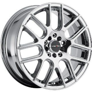 Vision Cross 17 Chrome Wheel / Rim 4x100 & 4x4.5 with a 42mm Offset and a 73.1 Hub Bore. Partnumber 426 7703PC42 Automotive