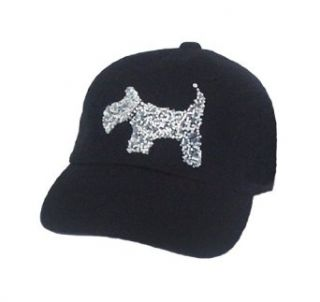 Schnauzer Puppy Dog Doggie Paw Baseball Hat Cap Embroid Clothing