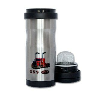 359 Red Peterbilt Semi Truck Tea Tumbler by ADMIN_CP113552117