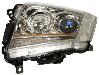 OE Replacement Cadillac CTS Passenger Side Headlight Assembly Composite (Partslink Number GM2503309) Automotive