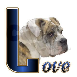 English Bulldog Love Coffee Cups by shopspringdale