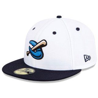 Lakewood BlueClaws Authentic Alternate 2 Fitted Cap  Sports Fan Baseball Caps  Sports & Outdoors