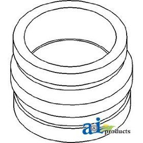 A & I Products Adapter, Turbo to Elbow Replacement for John Deere Part Number