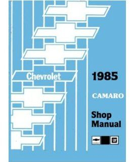1985 Chevrolet Camaro Shop Service Repair Manual Book Engine Electrical OEM Automotive