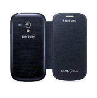 Samsung SM EFC 1M7FBEGSTD Flip Cover for Samsung Galaxy S3 Mini   Retail Packaging   Blue Cell Phones & Accessories
