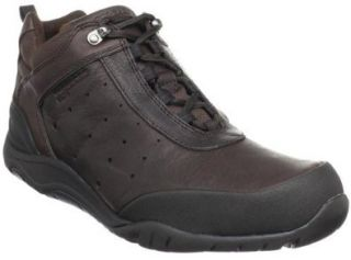 Rockport Men's Chawa Comfort Shoes,Dark Brown/Black Full Grain Leather,6.5 W US Shoes