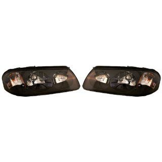 2000 2004 Chevrolet/Chevy Impala Headlights Headlamps Head Lights Lamps Pair Set Left Driver AND Right Passenger Side (2000 00 2001 01 2002 02 2003 03 2004 04) Automotive
