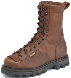 "Rocky Boot Men's 10"" Dark Brown Bear Claw Hunting Boot Style 9237 Shoes"