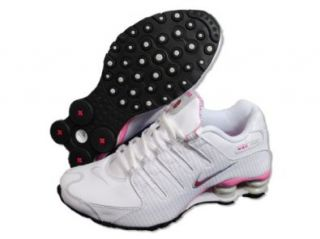 Womens Nike Shox NZ Running Shoes White / Voltage Cherry / Grey 314561 102 Size 10 Shoes