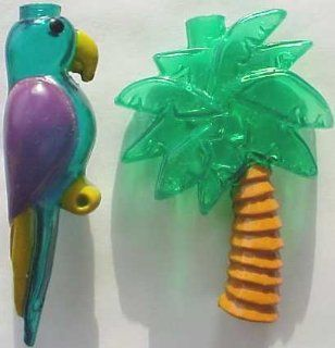 Parrot and Palm Tree Fun Party String Lights (SJ)