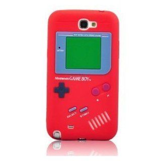 I Need Popular 3D Red Game Boy Soft Silicone Case Cover Compatible for Samsung Galaxy Note II N7100 Cell Phones & Accessories
