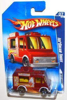 2009 Hot Wheels City Works, 1983 Ice Cream Truck 07 of 10, 113/190 (1 Each) Toys & Games