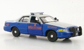 Ford Crown Victoria, Georgia State Patrol   State Trooper, police (US) , Modellauto, Ready made, First Response 143 First Response Toys & Games