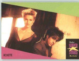 1991 Pro Set Superstars MusicCards U.K. Edition # 117 Roxette (Collectible Pop Music / Rock Star Trading Card) Toys & Games