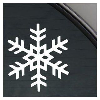Snowflake White Sticker Decal Car Window Wall Macbook Notebook Laptop Sticker Decal