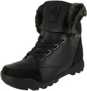ROCAWEAR Climber Mens Jay Z Hi Top Lace Up Front Leather Faux Fur Lining Boots Shoes Shoes