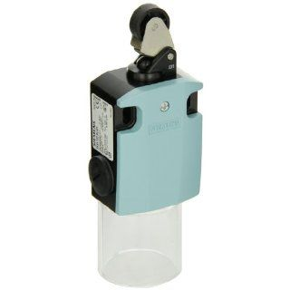 Siemens 3SE5 122 0LE01 International Limit Switch Complete Unit, Roller Lever, 56mm Metal Enclosure, Metal Lever, 22mm Plastic Roller, Snap Action Contacts, 1 NO + 2 NC Contacts Electronic Component Limit Switches