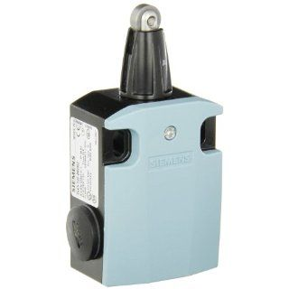 Siemens 3SE5 122 0KD02 International Limit Switch Complete Unit, Roller Plunger, 56mm Metal Enclosure, 13mm High Grade Steel Roller, 3mm Overtravel, Slow Action Contacts, 1 NO + 2 NC Contacts Electronic Component Limit Switches Industrial & Scientifi