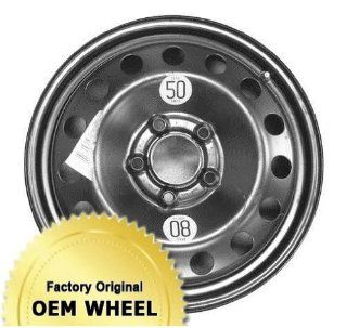 BMW 320,323,325,330,125 17X3.5 STEEL Factory Oem Wheel Rim  MACHINED FACE SILVER   Remanufactured Automotive