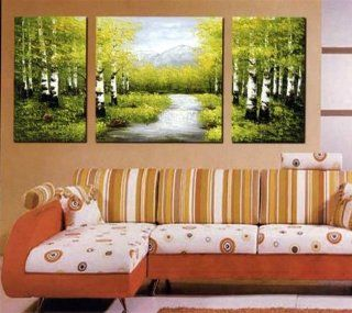 Modern Abstract Art Oil Painting STRETCHED READY TO HANG OPA132   Paintings For Living Room