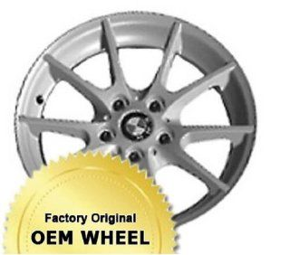 BMW 128,135,1 SERIES 17X7 5 DOUBLE V SPOKES Factory Oem Wheel Rim  SILVER   Remanufactured Automotive