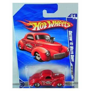 "Hot Wheels Custom '41 Willys Coupe ""HW Hot Rods"" #139 (2010)"
