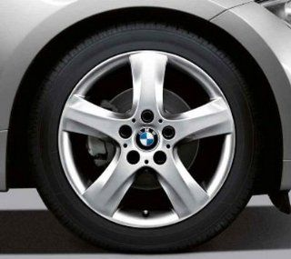 "BMW Genuine 17"" light alloy Wheel Rim spider spoke 142 128i 135i 128i 135i E82 Automotive"