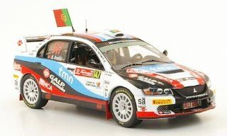Mitsubishi Lancer EVO IX, No.147, Rally Portugal , 2009, Model Car, Ready made, IXO 143 IXO Toys & Games