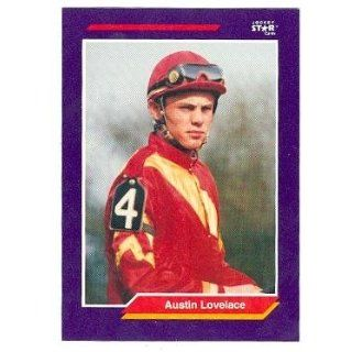 Austin Lovelace trading card (Horse Racing) 1992 Jockey Star #148 Collectibles & Fine Art
