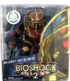 NECA Bioshock 2 Ultra Deluxe Exclusive Action Figure Big Daddy Elite Bouncer Toys & Games