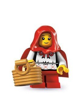 Lego Series 7 Mini Figure Little Red Riding Hood Toys & Games