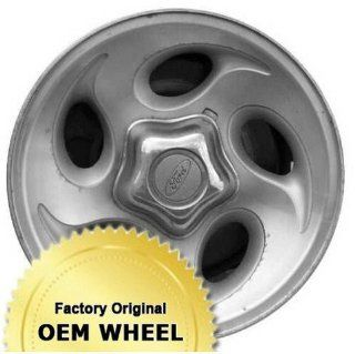 FORD,MERCURY EXPLORER,RANGER,MOUNTAINEER 15X7 5 SPOKE Factory Oem Wheel Rim  MACHINED FACE SILVER   Remanufactured Automotive
